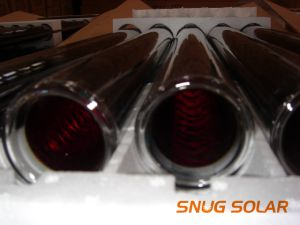 Three Target Solar Glass Vacuum Tube for Solar Water Heater (etc tube) pictures & photos