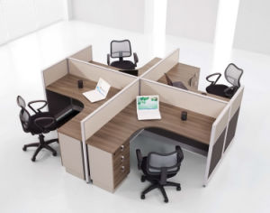 Ordinaire Partition Walnut Office Furniture Staff Desk 60mm Partition System Office  Partition Workstationtable