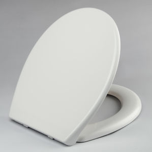 One Button Quick Release Toilet Seat Cover pictures & photos