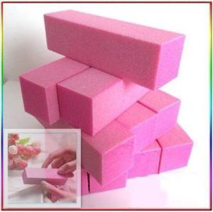 Pink Color Nail Buffer Sanding Block Acrylic Nails Tool File