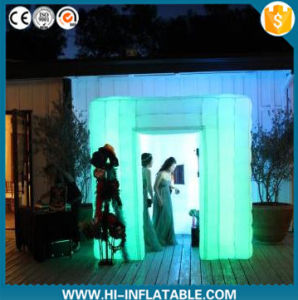 Customized Logo Print inflatable Wedding Photo Booth for Wedding Decoration