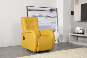 Leisure Arm Chair and Phone Holder Multiourpose Leather Sofa