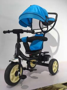 New Style 4 in 1 Kids Tricycle Adjustable Tricycle pictures & photos