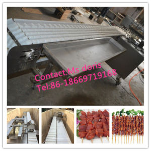 Hot Sale Automatic Souvlaki Kebab Skewer Machine pictures & photos