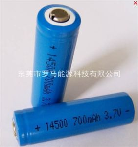 China Aa 3 7v 500mah Lithium Batteries 14500 Li Ion Battery For Flashlight China Lithium Ion Battery And Lithium Ion Battery Charging Price