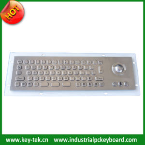 IP65 Dynamic Embedded Keyboard with Integrated Optical Trackball