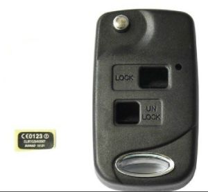 Good Quality for Lexus Flip Remote Key Shell 2 Button pictures & photos