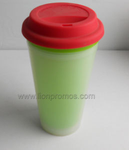 Silicone Cover Promotional Cafe Cup pictures & photos