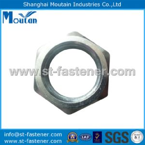 Carbon Steel Zinc Plated DIN439 Hex Thin Nuts