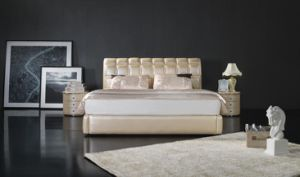 Bed Design Furniture -Modern Soft Bed (6061) pictures & photos
