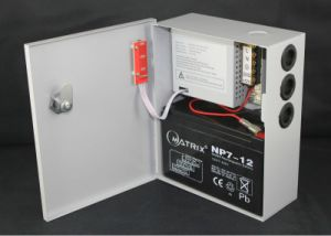 china 12v 3amp 1 channel output battery backup power supply