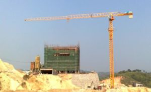 T5010-4 Lifting Machine Topless Tower Crane