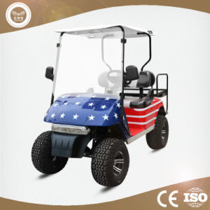 China Hot Sale Mini 4 Seater Club Car Golf Cart With Foldable