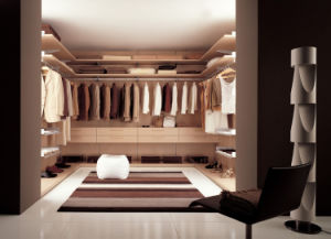 Moden Design Solid Wood Walk in Closet pictures & photos