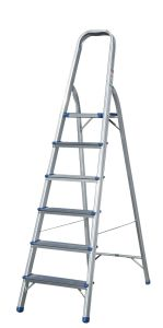 Household Aluminum Ladder (6 Steps) pictures & photos