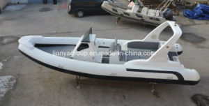 Liya 7.5m Rib Boat Rescue Boat Military Boat Navy Boat pictures & photos