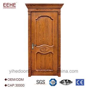China Single Solid Teak Wood Main Panel Door Design China Teak