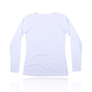 Female Plain Blank Light Slim Fit White T-Shirts pictures & photos