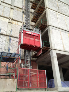 CE Approval Anka 2 Ton Construction Elevator pictures & photos