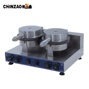 Double Head Stainless Steel Industrial Cone Baker Machine Price pictures & photos
