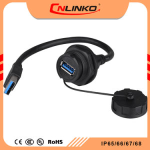 Wondrous China Male Female Connector Wiring Usb Panel Connector Weatherproof Wiring 101 Akebretraxxcnl