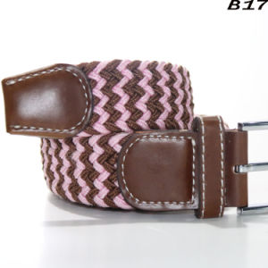 Mens Casual Classic Pin Buckle Durable Belt Stretch