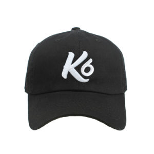 acd0463e Custom High Quality 6 Panel Washer Embroidery Distressed Baseball Cap