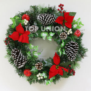 china artificial wreath artificial wreath manufacturers suppliers made in chinacom - How To Decorate Artificial Christmas Wreath
