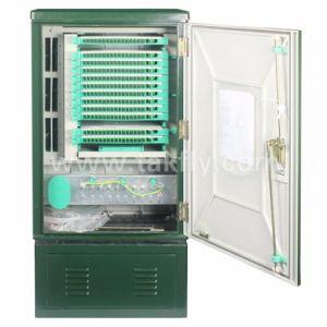 Waterproof 144 288 Ports Fiber Optic Outdoor Cabinet