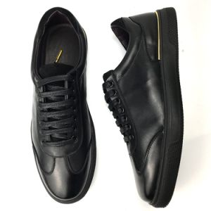 China New Fashion Mens Shoes Black
