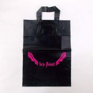 Gravure Printed Eco Friendly Gift Wrapping Plastic Bags with LDPE Handle