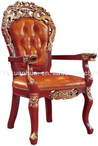 High Quality Royal Antique Solid Wood Restaurant Chair (CT-316)