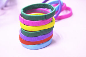 China High Quality Girl Rubber Elastic Band Elastic Hair Tie Girl