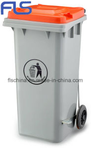 New Model! ! ! High-Quality HDPE 120L Outdoor Plastic Bin pictures & photos