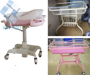 Brief Design Stainless Steel Hospital Baby Stroller Crib Trolley Buy pictures & photos