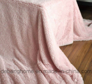 2014 Super Soft Micro Mink Long Pile Plush Blanket pictures & photos