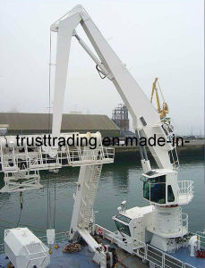 Hydraulic Folding Crane pictures & photos