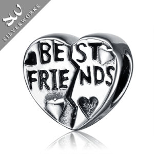 925 Silver Best Friends Beads Jewelry Beads Item