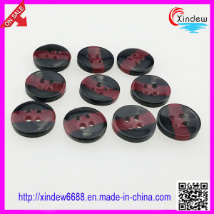 Plastic Men Shirt Buttons pictures & photos