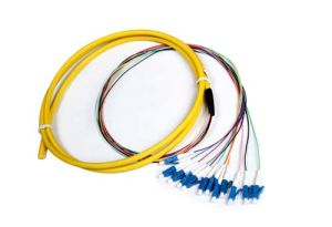 Fiber Optical 12c LC/PC G652D Sm Pigtail