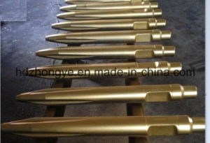 42cr, Conical Point/Cone Steel Hydraulic Hammer Chisels pictures & photos