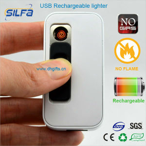 Silfa Fancy Electronic Rechargeable USB Cigarette Lighter with Card Reader