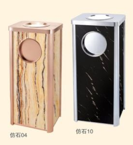 New Design Marble Like Ash Dustbin (DK158) pictures & photos