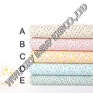 Multicolor Dots Design for European Market Polyester Printed Fabric pictures & photos