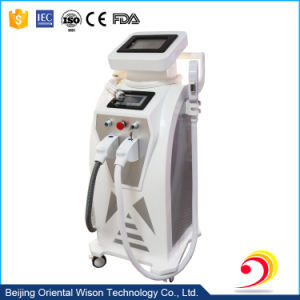 New Design 3 Handles Bipolar RF ND YAG Laser Elight (IPL RF) Hair Removal Machine pictures & photos