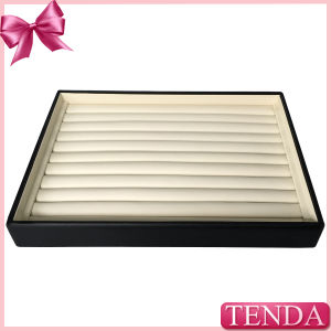 High Quality Wooden Leatherette Leather Jewel Jewellry Jewellery Tray