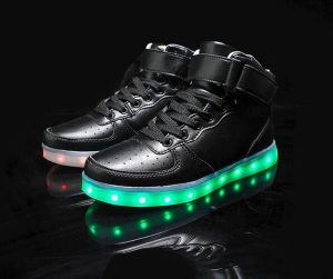 High Quality Men Luminous Shoes 7 Colors Growing LED Sport Shoes pictures & photos