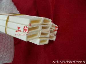 Rectangular C799 Alsint Alumina Ceramic Tube 99.7% Al2O3 pictures & photos