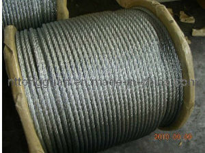 High Quality Steel Wire Rope 6*25fi+Iwr pictures & photos