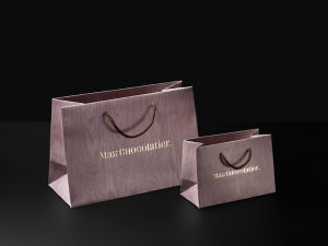 Customized Brown Paper Bag with Handle